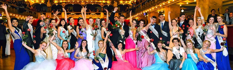 pražská Lucerna maturitní ples