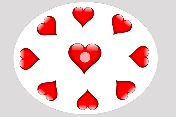 4 m srdce